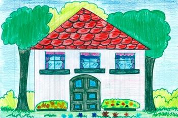 Media education noi e la televisione for Disegno di una casa
